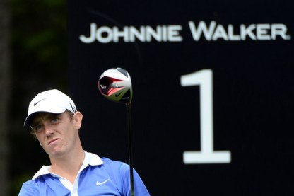 Fleetwood winning his first of potentially many tournaments at the Johnnie Walker Championship