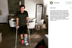 Mcilroy performed well despite a recent ankle injury