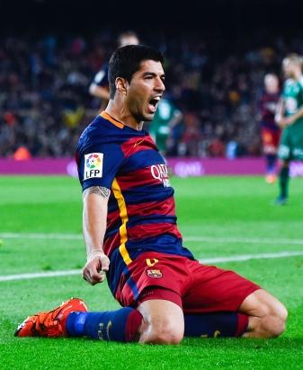 <> at Camp Nou on October 25, 2015 in Barcelona, Spain.